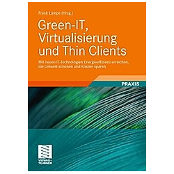 Green-IT  Virtualisierung und Thin Clients. Frank Lampe  - Buch