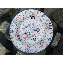 Suppenteller Ø24 cm, Höhe 4 cm, Vol. 300 ml, Kunterbunt, BSN m-4648