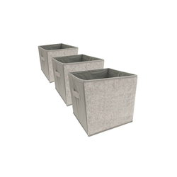 HTI-Living Aufbewahrungsbox Aufbewahrungsbox Paloma 3er Set mit Buchstaben (3 Stück), Aufbewahrungsbox