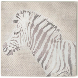 Art for the home Leinwandbild Zebra, (1 Stück)