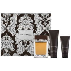 Dolce & Gabbana The One for Men EDT Geschenkset EDT 100 ml + 75 ml Aftershave Balm + 50 ml Duschgel