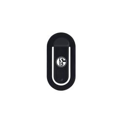 Schalke 04 Handy-Halterung, (flapgrip mit FC Schalke 04-Logo)