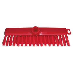 Haug Hygiene Besen, 295 x 60 x 95, Besatz: PBT Ø 0,50 mm (mittel), Besatzfarbe: rot