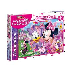 Clementoni® Puzzle Puzzle 104 Teile - Minnie & Daisy, Puzzleteile