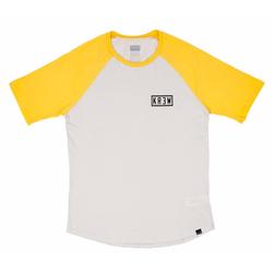 Tshirt KREW - Bold Locker Eggshell/Gold (123)
