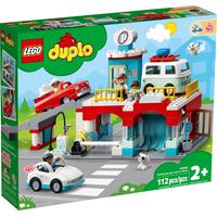 Lego Duplo Parkhaus mit Autowaschanlage 10948