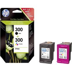 HP 300 Tintenpatrone Kombi-Pack Original Schwarz, Cyan, Magenta, Gelb CN637EE Druckerpatronen Kombi-