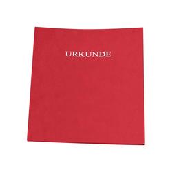 Urkundenmappen rot