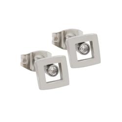 FIRETTI Damen Ohrringe grau / weiß, Größe One Size, 5017160