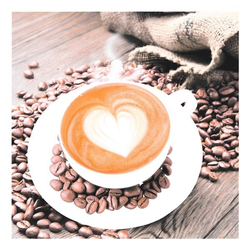 Servietten »Coffee«, Papstar, 33x33 cm
