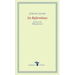 Im Reformhaus als Buch von Jürgen Kaube