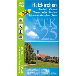 Holzkirchen 1 : 25 000. Rad- und Wanderkarte