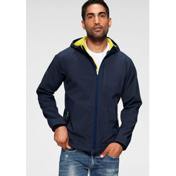 Superdry Softshelljacke HOODED SOFTSHELL blau L (48)