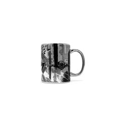 Star Wars Tasse Tasse metallic Star Wars Tie Attack, 315 ml schwarz
