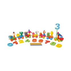 Small Foot Kerzenständer Kerzenhalter Geburtstagszug Tierparty