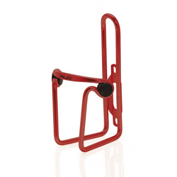 XLC Fahrrad-Flaschenhalter XLC Trinkflaschenhalter Alu BC-A02 rot, Polster ru