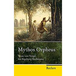 Mythos Orpheus - Buch