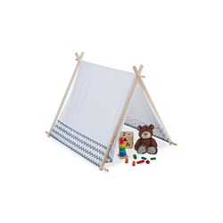 relaxdays Tipi-Zelt Tipi Zelt für Kinder