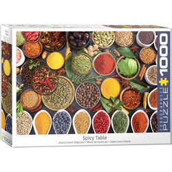 empireposter Puzzle Gewürze der Welt - 1000 Teile Puzzle im Format 68x48 cm, 1000 Puzzleteile