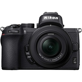 Nikon Z 50 + Nikkor Z DX 16-50 mm VR + 50-250 mm VR