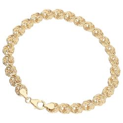Luigi Merano Luigi Merano Armband Rosenkette, Gold 333