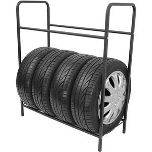 Stillerbursch Reifenregal Reifenhalter Felgenbaum Reifenständer Felgenregal für 8 Räder