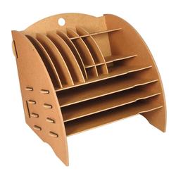 WERKHAUS® Briefablage Werkhaus - Ablage Big Organizer Natur Briefablage Stiftehalter Schreibtisch
