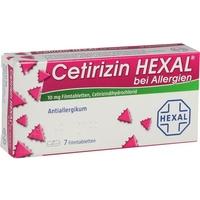 Hexal Cetirizin bei Allergien Filmtabletten