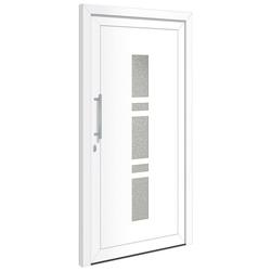 RORO Türen & Fenster Haustür OTTO 19, BxH: 100x200 cm, weiß, ohne Griffgarnitur