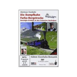 Edition Eisenbahn-Romantik: Die Dampfbahn Furka-Bergstrecke DVD
