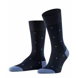 FALKE Socken Dot (1-Paar) mit hoher Farbbrillianz blau 39-42