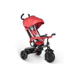 besrey Dreirad Dreirad ab 10 Monate mit schubstange Kinderdreirad Kinderwagen Kinder Fahrrad rot