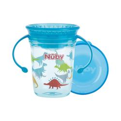 Nuby Becher blau