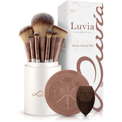 Luvia Cosmetics Kosmetikpinsel-Set Prime Vegan Pro, 15 tlg.