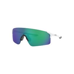 Oakley Brille Evzero Blades, Matte White, Prizm Jade Iridium Brillenfassung - Sportbrillen,