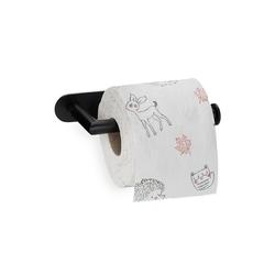 relaxdays Toilettenpapierhalter Toilettenpapierhalter selbstklebend