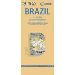 Brazil / Brasil / Brasilien 1 : 4 000 000