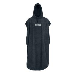 ION Poncho Core steel grey warm handtuch strand mobile Umkleide, Größe: S