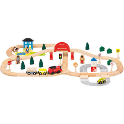 Holz-Eisenbahn, 70tlg.