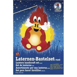 Laternen-Bastelset 17 'Feuerdrache'