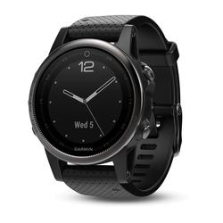Fenix 5S saphirglas schwarz mit schwarzem Armband