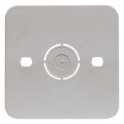 Berker 105250, SV Bodenplatte für AP-Schalt. 1F AP weiß