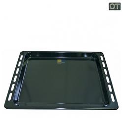 Whirlpool Backblech 2 x Backblech Fettpfanne NFP93 Bauknecht emaillier, Metall, Typ: 481010539879