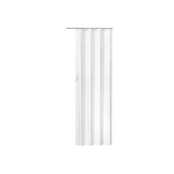 tectake Tür Falttür 203 x 80 cm weiß