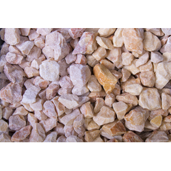Edelsplitt Marmor Mandarin Splitt, 18-25, 750 kg Big Bag