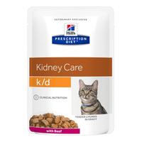 Hill's Prescription Diet Feline k/d Rind 12 x 85 g