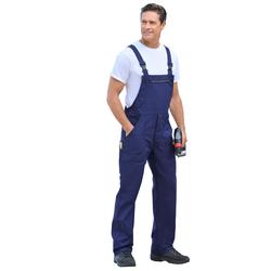 Uvex Latzhose aus reiner Baumwolle blau Herren Latzhosen Arbeitshosen Arbeits- Berufsbekleidung Hosen, sonstige