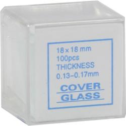 Deckgläser 18x18 mm