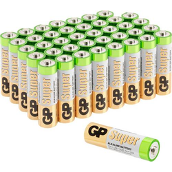 GP Batteries Super Mignon (AA)-Batterie Alkali-Mangan 1.5V 40St.