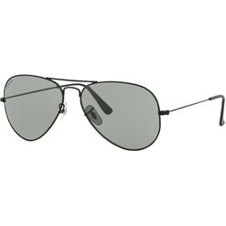 John Doe Aviator Sonnenbrille, schwarz